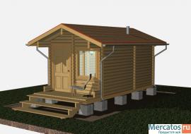 Строительство дачных домов, беседок, бань из профилированного бр