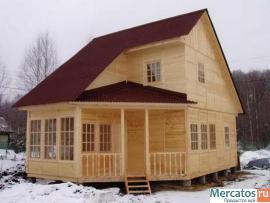 Строительство деревянно-каркасных мобильных зданий