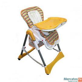 Детский стульчик для кормления forkiddy optimum orange