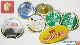 Изготовление значков, медали на заказ в Красноярске