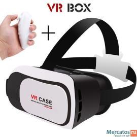 Очки виртуальной реальностиVR Box 2.0.Гарантия.Пульт в подарок.