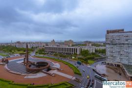 квартира с видом на площадь победы