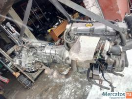 Двигатель 101260 Opel frontera y22dth