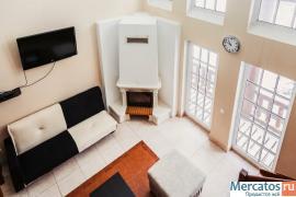 Теплый и уютный коттедж с банным комплексом в Рощино