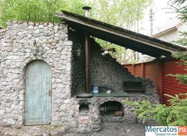 Большой коттедж с банкетным залом, баней и бильярдом у озера
