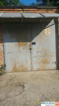 Продаю капитальный кирпичный гараж