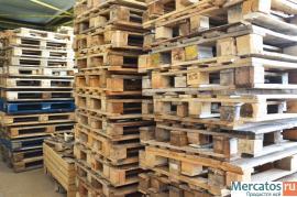 Поддоны деревянные б/у 800х1200мм