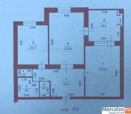 Новая квартира с огромной верандой